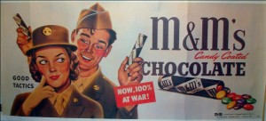 m&m military
