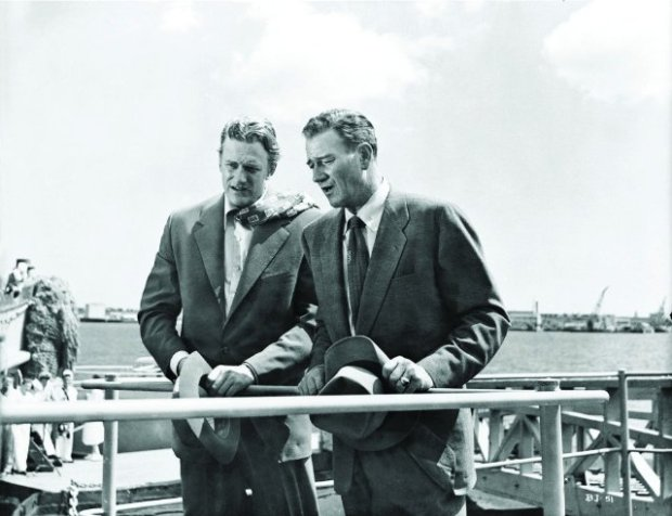 Still-of-John-Wayne-and-James-Arness-in-Big-Jim-McLain-1952